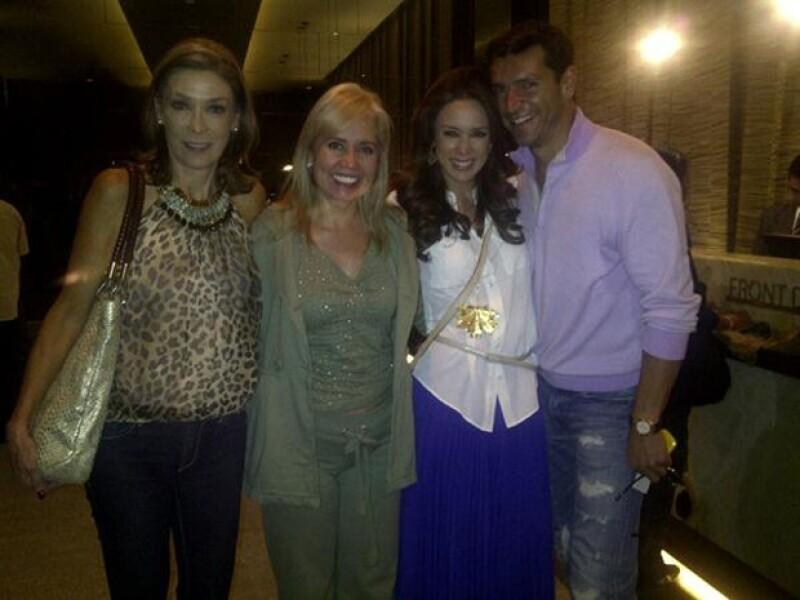 Carla Estrada publicó esta imagen a su llegada a Guadalajara.