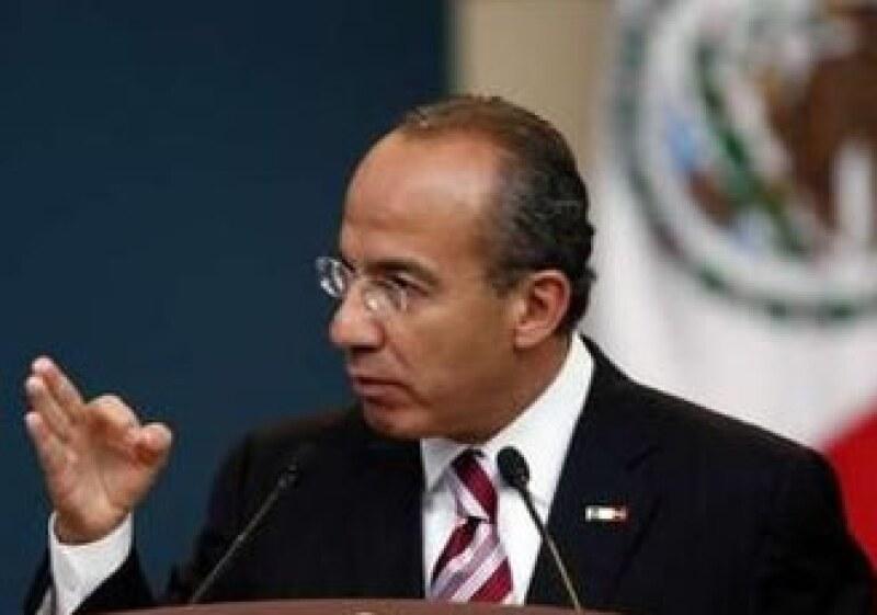 Felipe Calderón presentó este miércoles su tercer Informe de Gobierno. (Foto: Reuters)