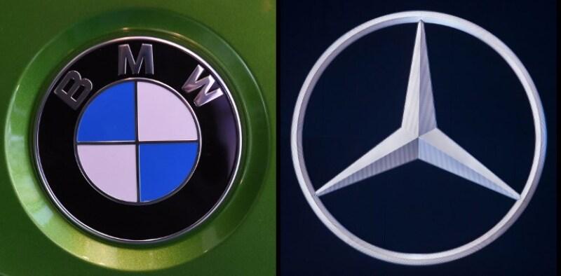 Logos de BMW y Daimler