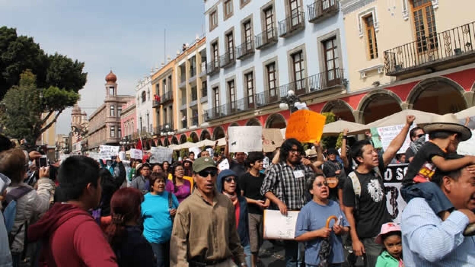 protesta antipeña