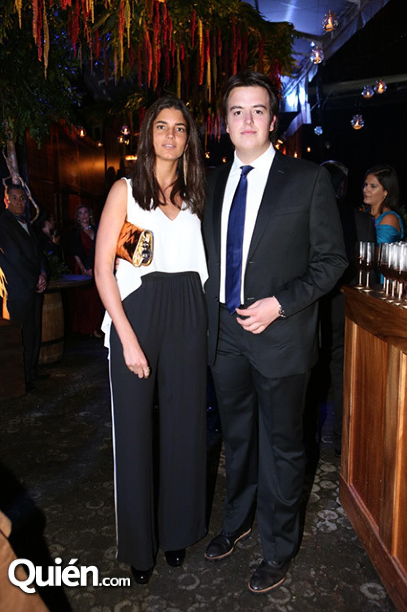 Fernanda Gómez y Javier Herrera
