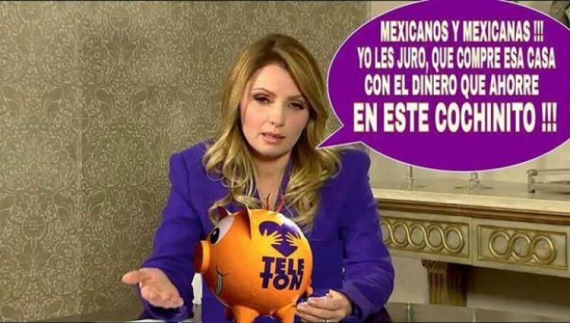 Los memes de Angélica Rivera no se han dejado de compartir desde ayer por la mañana