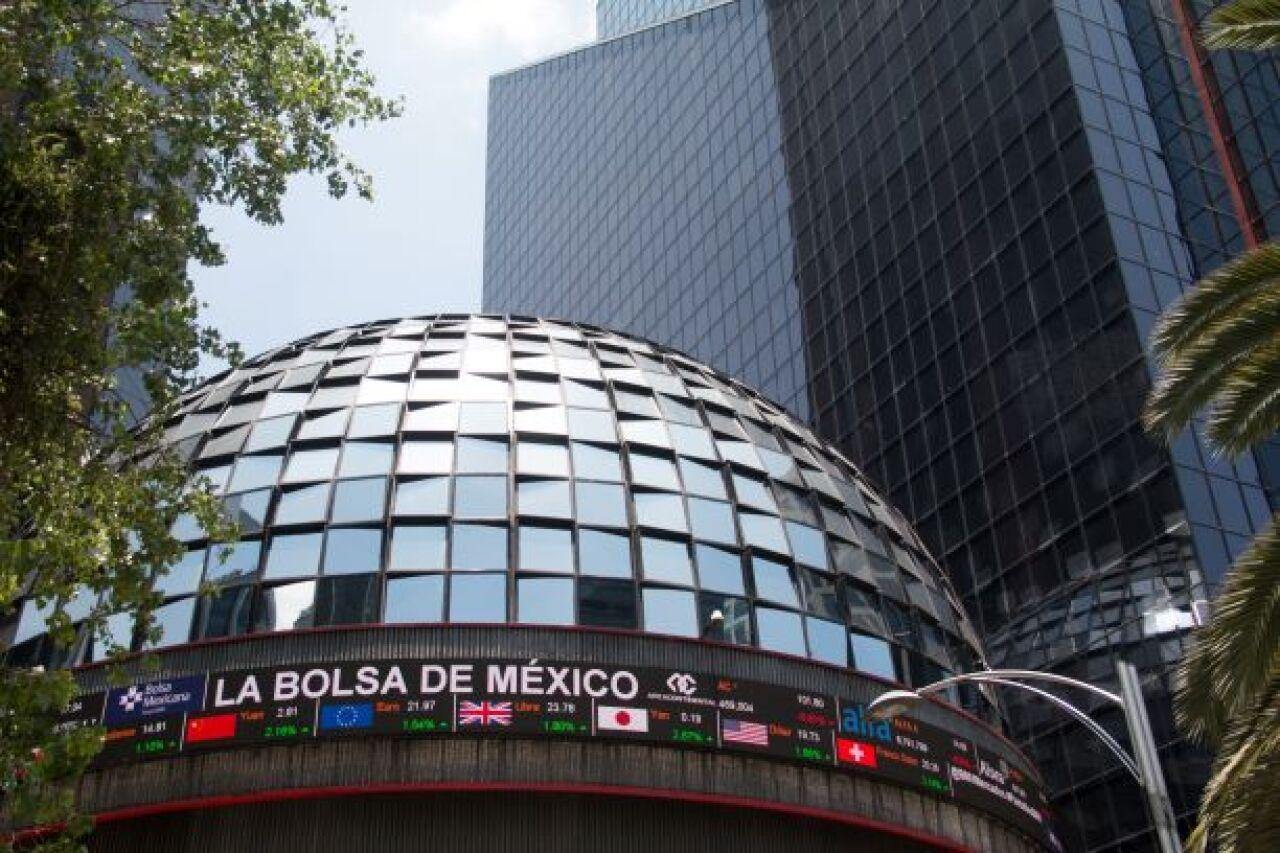 La Bolsa mexicana tiene su peor semana en nueve meses