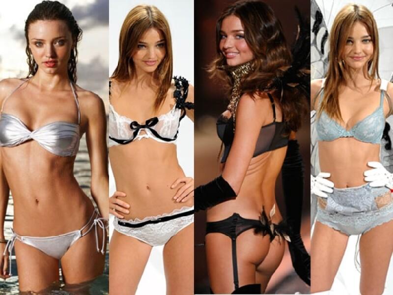 La modelo tiene ascendencia inglesa y francesa.