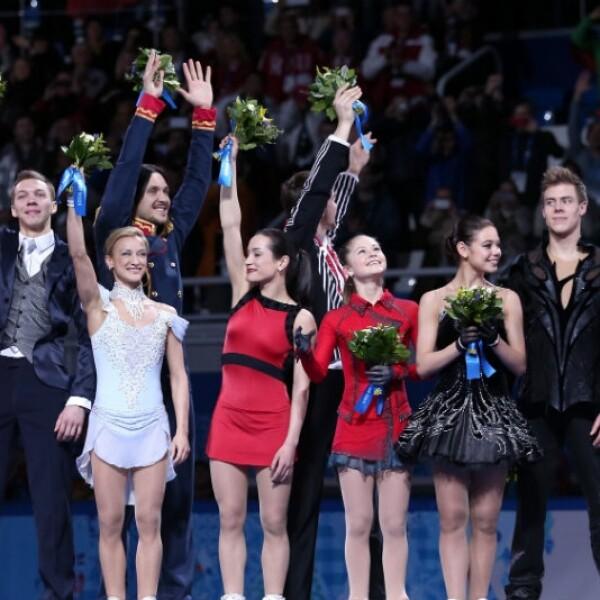 Segunda jornada en los olímpicos de Sochi