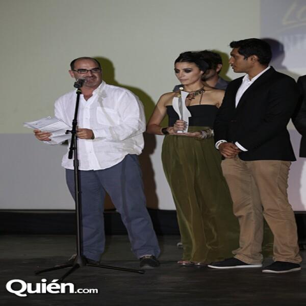 Ramiro Ruiz, Ilse Salas y Tenoch Huerta