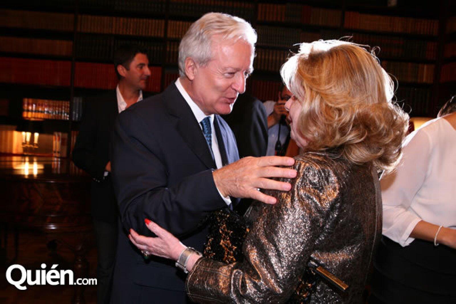 Daniel Parfait y Doris Beckman