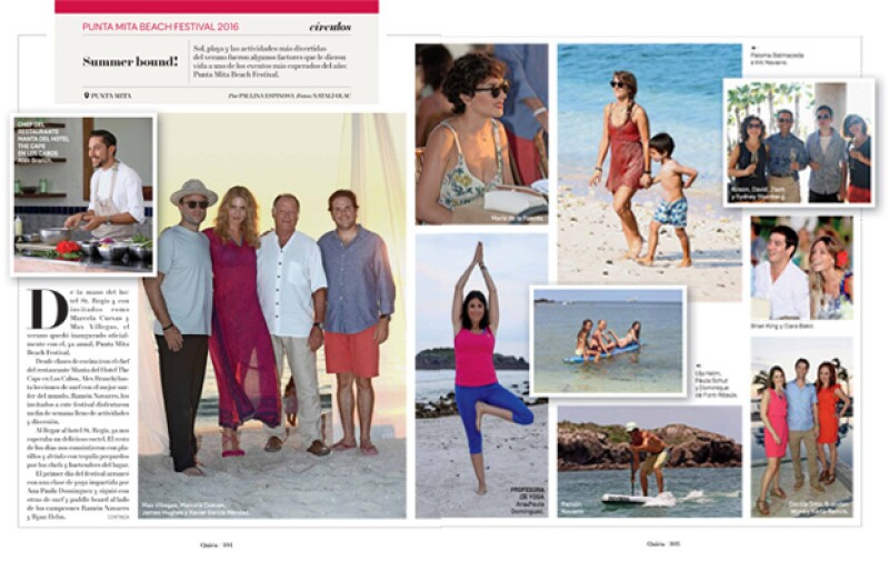 Páginas 104 y 105 de la revista.