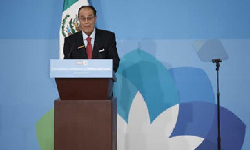 El presidente de la Asociación de Bancos de México, Jaime Ruiz Sacristán, aseguró que los bancos en México se mantienen sólidos. (Foto: Notimex)