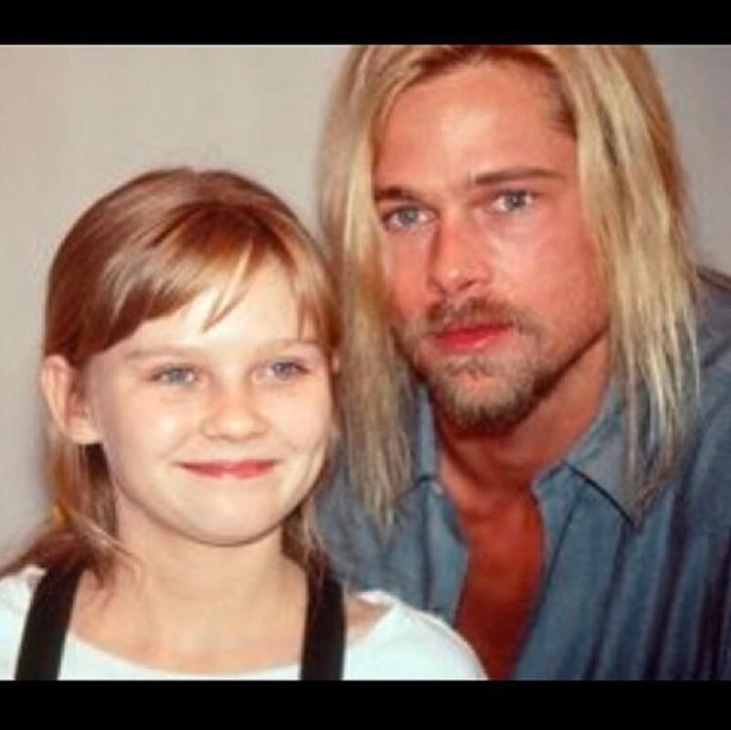 Esta fue la fotografía que Kirsten compartió, ¿cambiaron demasiado?