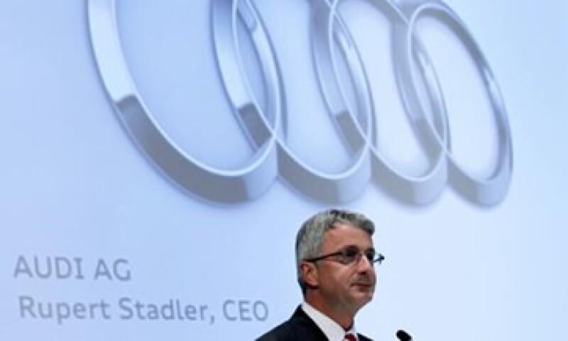El presidente ejecutivo de Audi busca producir su camioneta de lujo Q5 en territorio mexicano, y no en alguna fábrica de VW en EU. (Foto: Reuters)