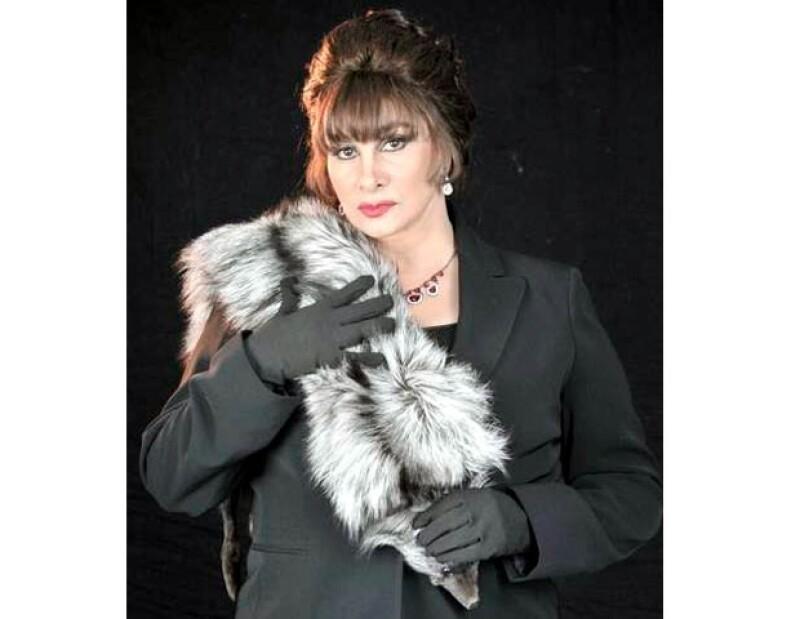 La primera actriz se encuentra grabando una nueva telenovela en Miami al lado de Guy Ecker.