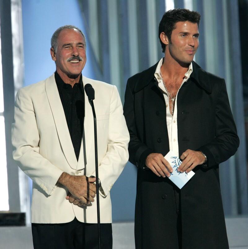 Andres y Leonardo García en unos premios