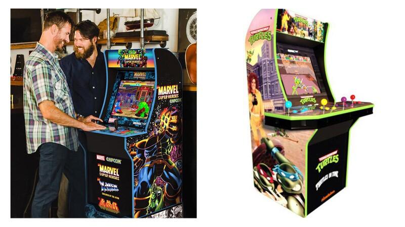 Tortujas Ninja y Marvel arcade