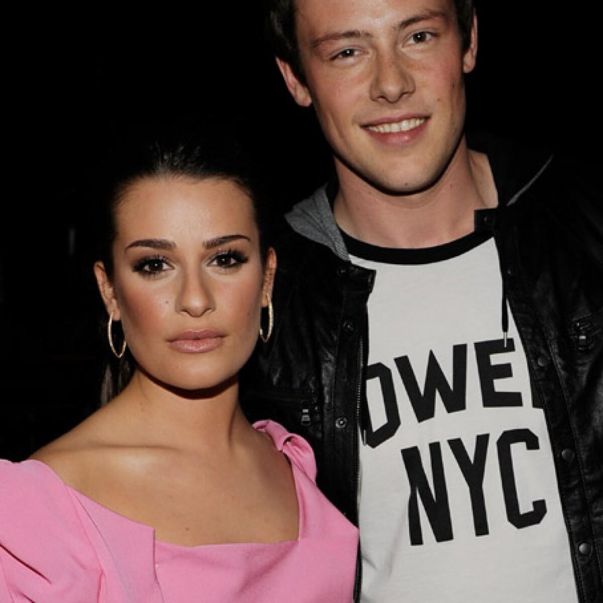 La historia de amor de Cory Monteith y Lea Michele