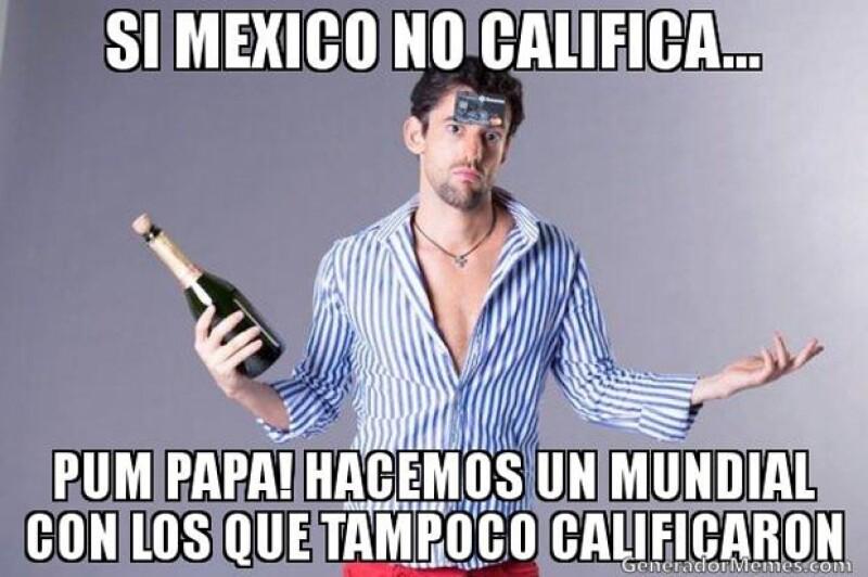Luis Gerardo Méndez y su personaje de Javi Noble es de gran ayuda para el ingenio mexicano sobre el Mundial.