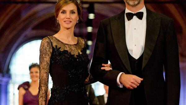 Letizia y Felipe de España.