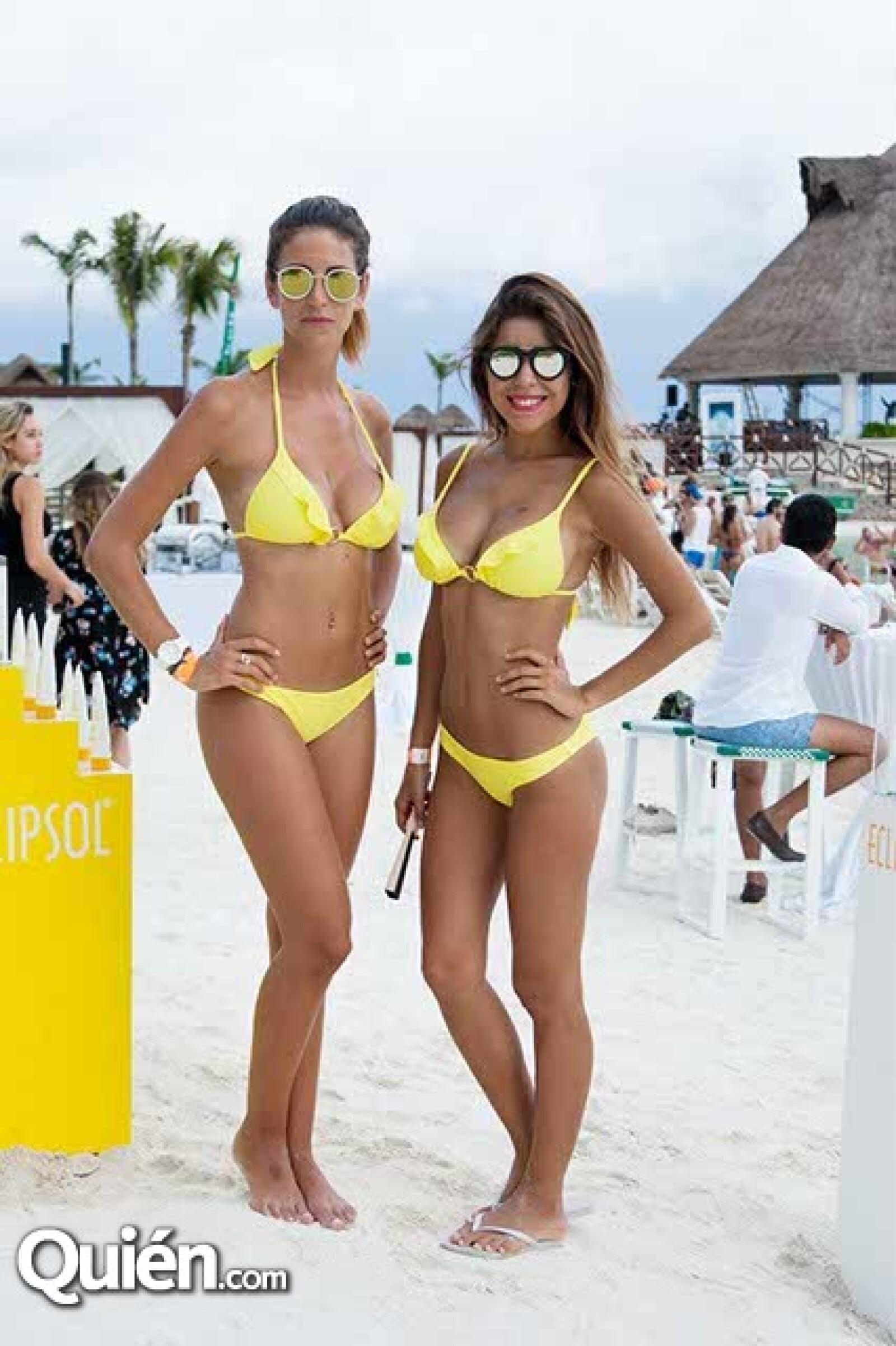 Paula Martorell y Antonella Fernández