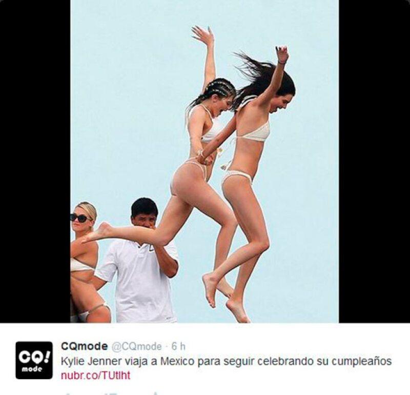 La atractivas hermanas se han divertido al máximo en Punta Mita.