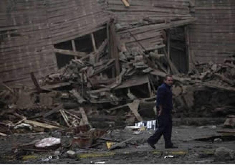 La minería y la siderurgia son ramos afectados por la destrucción que ocasionó el temblor en territorio chileno. (Foto: AP)