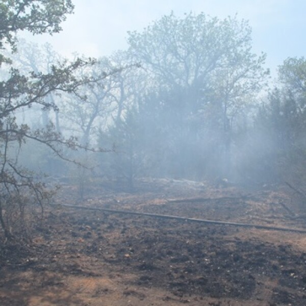 Texas - incendios forestales