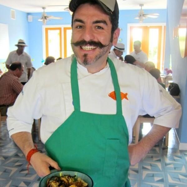 Aquiles, el chef tabasqueño, es considerado uno de los mejores en México.