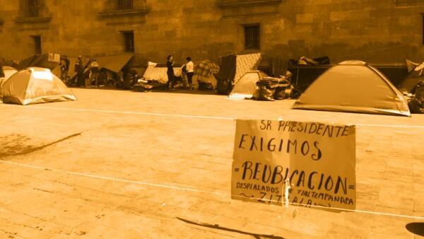 Desplazados de Guerrero.
