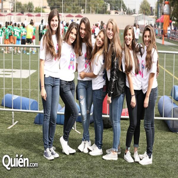 Regina Miziani,Layla Farah,Luciana Ersham,Paula Larola,Paula García Ramos,Nicole Grossman,Lorena Parolini