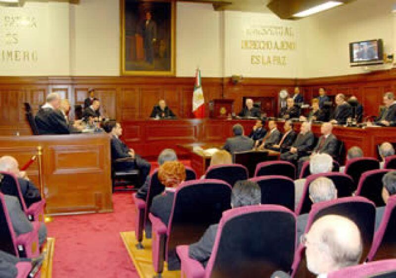 La Suprema Corte se prepara para una audiencia pública para revisar los amparos en contra del IETU (Foto: Notimex)
