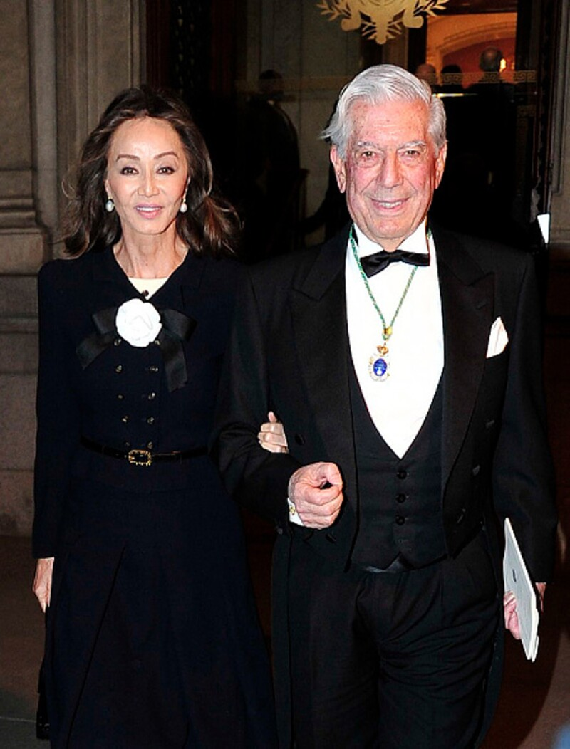 Mario Vargas Llosa e Isabel Preysler llevan casi un año juntos.