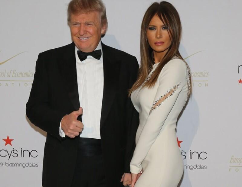 Donald y Melanie Trump