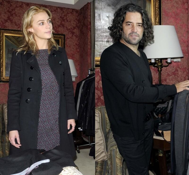 Felipe Fernández del Paso e Ilse Salas también fueron vestidos por InStyle.