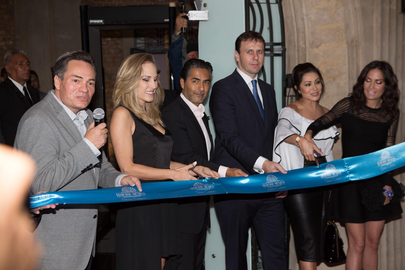 Inauguración del Casino Frontón México