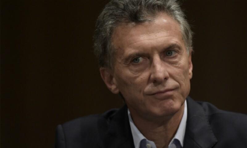 Mauricio Macri conquistó la presidencia de Argentina este domingo. (Foto: AFP)