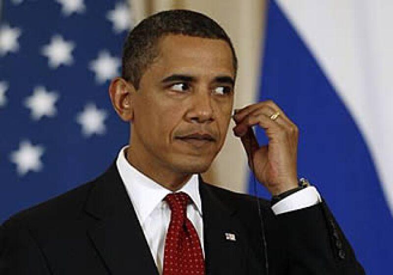 El presidente estadounidense, Barack Obama, llamó presidente al primer ministro ruso, alentando los rumores de que es Putin quien realmente gobierna el país. (Foto: Reuters)