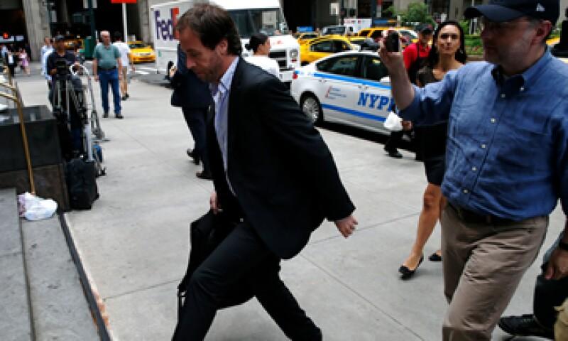 Una delegación argentina se reunió este martes con un mediador judicial en Nueva York. (Foto: Reuters)