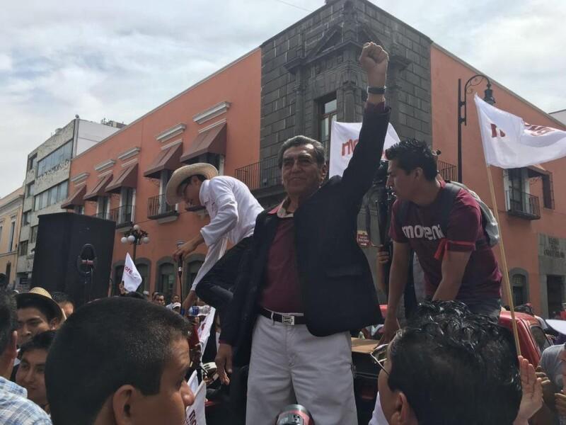 El antecedente del candidato de Morena a gobernador, Abraham Quiroz, es profesor en la Benemérita Universidad Autónoma de Puebla (BUAP).
