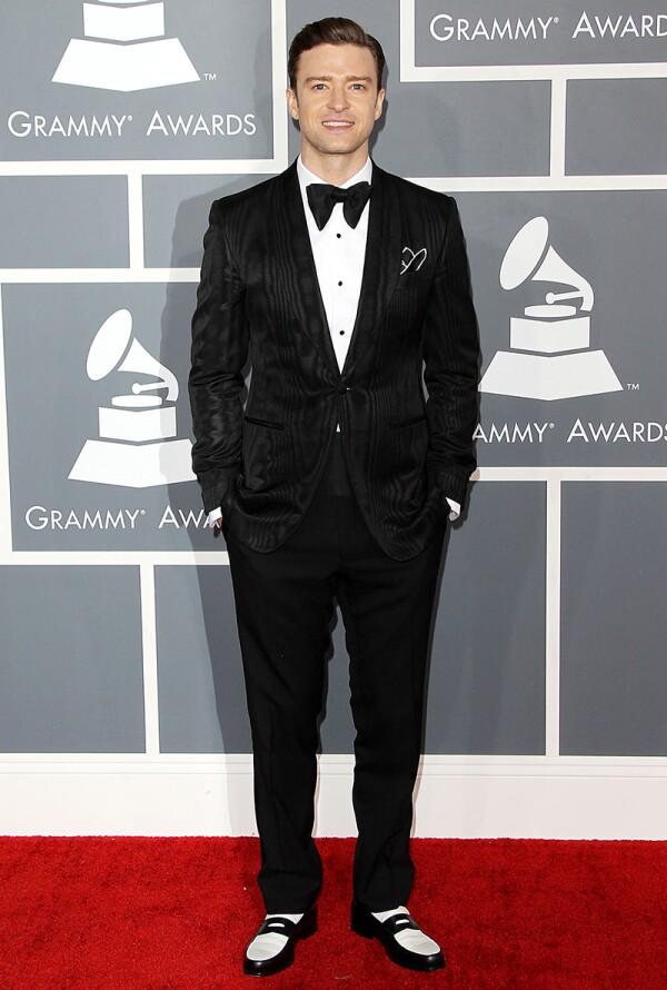 55th Annual Grammy Awards, Arrivals, Los Angeles, America - 10 Feb 2013