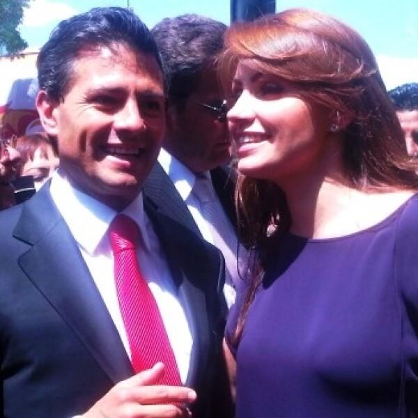 Peña Nieto rinde protesta como candidato