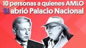 10 personas a quienes AMLO SI abrió Palacio Nacional | #Clip