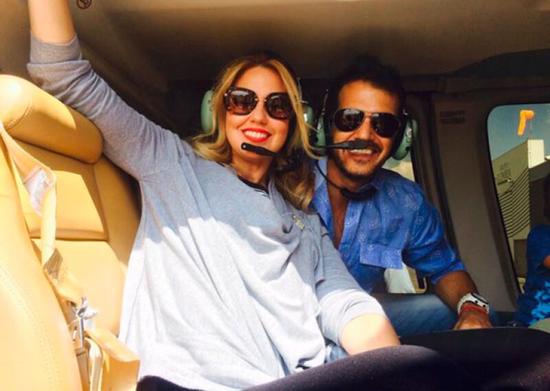 Raquel Bigorra compartió esta foto junto a un mensaje de felicitación para su gran amigo.