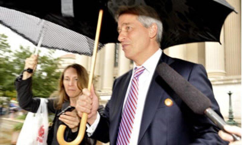 El CEO de JPMorgan, Jamie Dimon, respondió a un reportero: Yo soy más rico que tú. (Foto: Getty Images)
