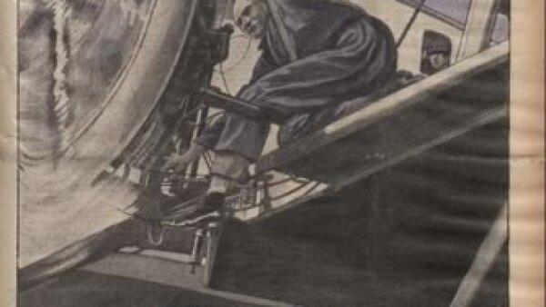 Ingenier�a aeroespacial como actividad. Cr�dito: Archivo de la Bibliot�que Nationale de France