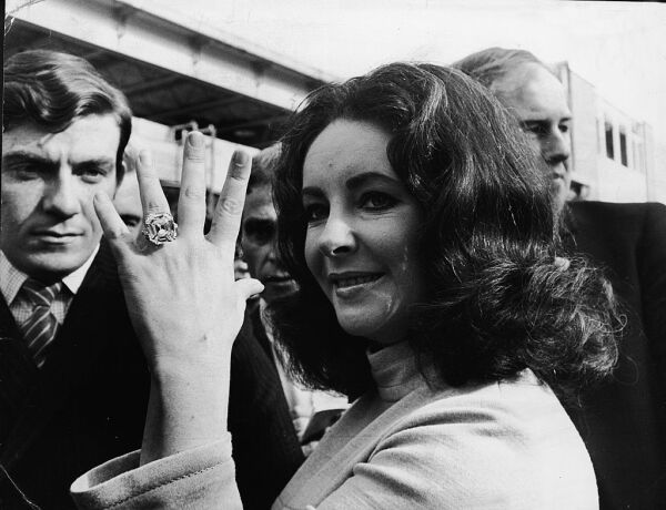 Elizabeth Taylor's Diamond Ring