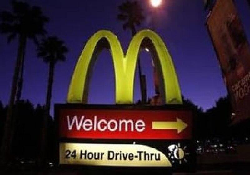 """El Dollar Menu y otras ofertas """"económicas"""" de la compañía han tenido una buena respuesta de consumidores. (Foto: Reuters)"""
