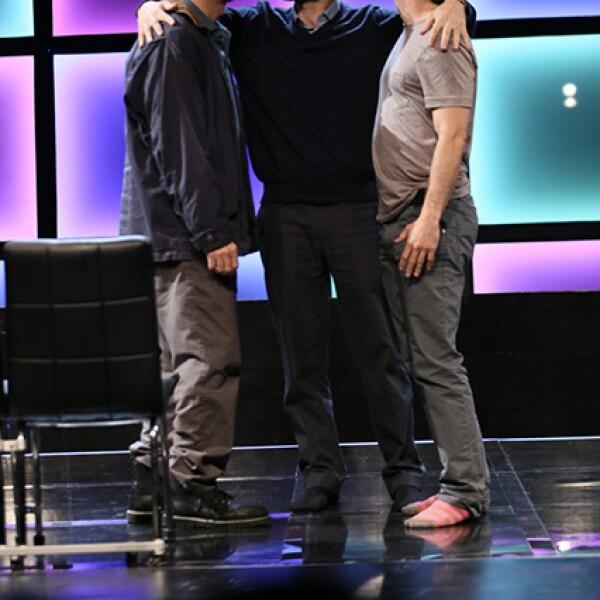 Los actores interpretan a tres hermanos.