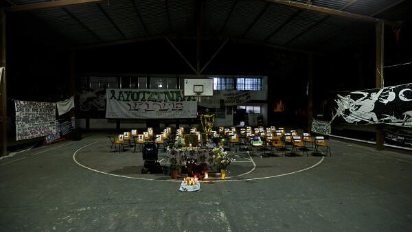 Los estudiantes desaparecieron el 26 de septiembre en Iguala, Guerrero.