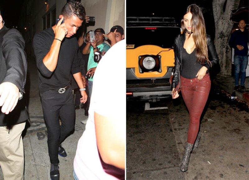 """La actriz mostró su molestia tras la publicación que de un medio que aseguraba ella había dicho:""""""""No soy amante de Cristiano Ronaldo, él y yo somos como amigas""""."""
