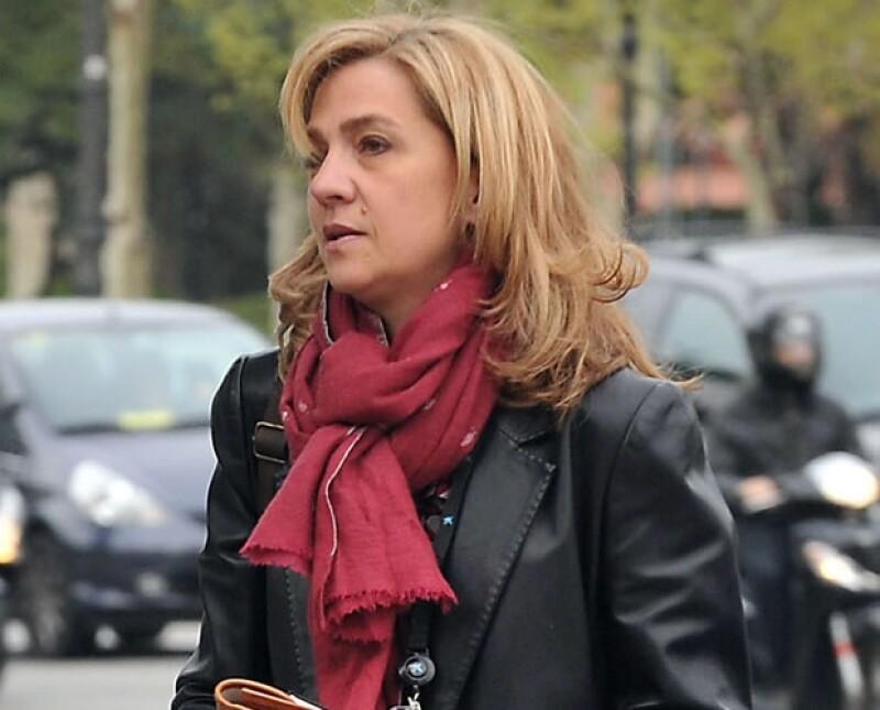 El 7 de enero se anunció la imputación más reciente de la infanta Cristina.