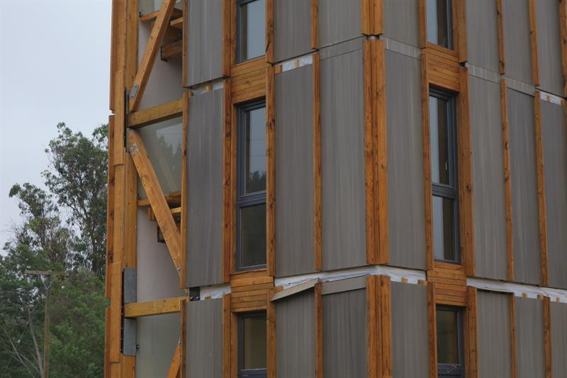 Torre de madera Chile